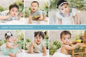 赤ちゃんの等身大写真@博多阪急さま、無事納品しました